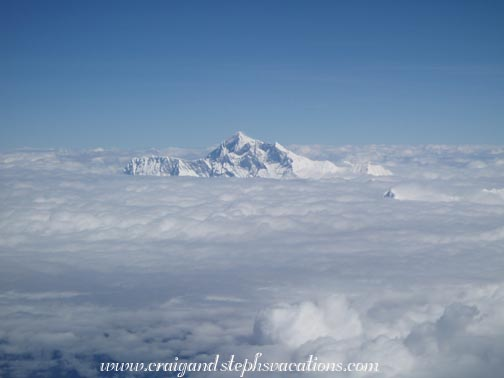 Mount Everest From Plane Mount everest as seen from theMount Everest From The Bottom