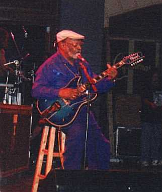 Robert Lockwood Jr, Blues Aid 5/26/2001